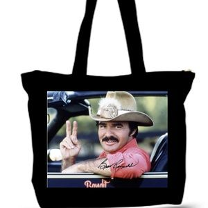 Burt Reynolds Smokie Grocery Tote Bag XXL